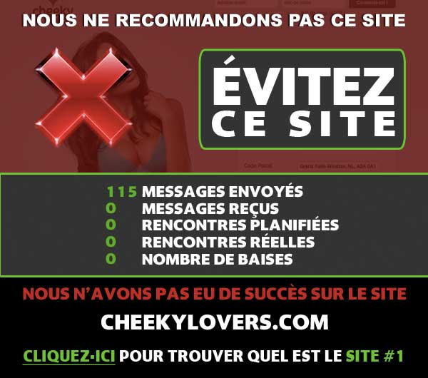 Analyse sur CheekyLovers.com