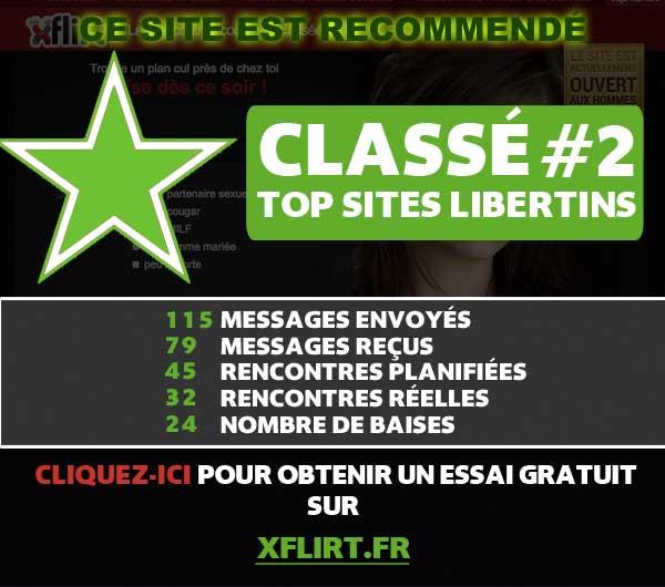 new libertin classement sites de rencontre